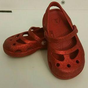 Mary Jane crocs